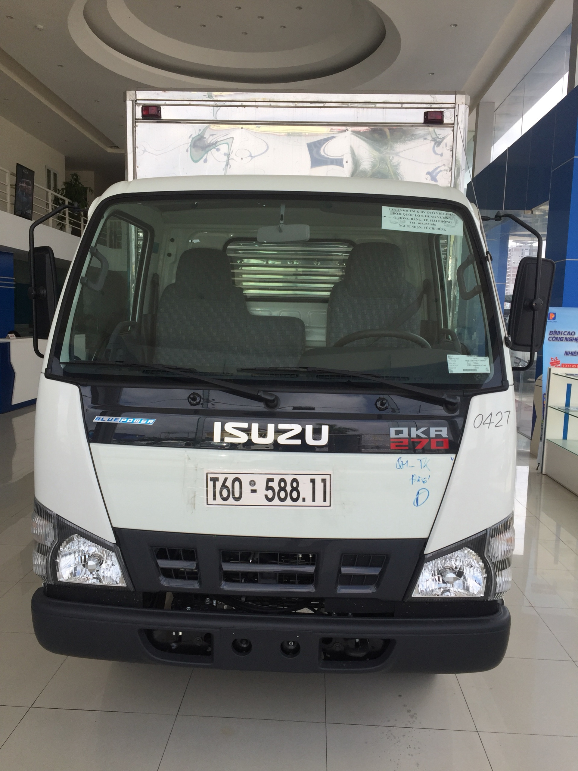 Xe tải Isuzu 1,9 tấn Euro 4 mới nhất 2018